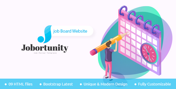 [Free Download] Jobortunity – Job Board HTML Template (Nulled) [Latest Version]