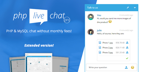 [Free Download] PHP Live Chat Pro (Nulled) [Latest Version