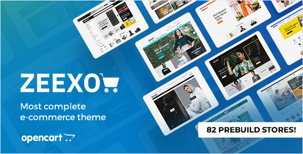 [Free Download] Zeexo – Premium OpenCart Theme (Nulled) [Latest Version]