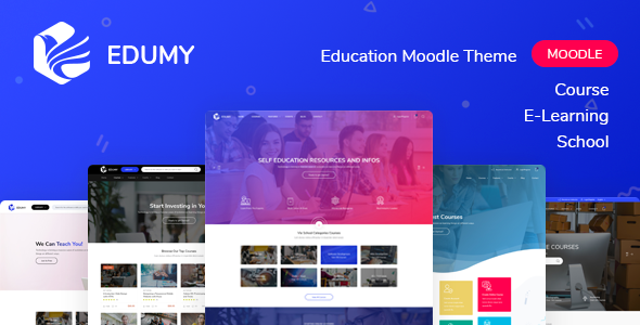 [Free Download] Edumy – Premium Moodle LMS Theme (Nulled) [Latest Version]
