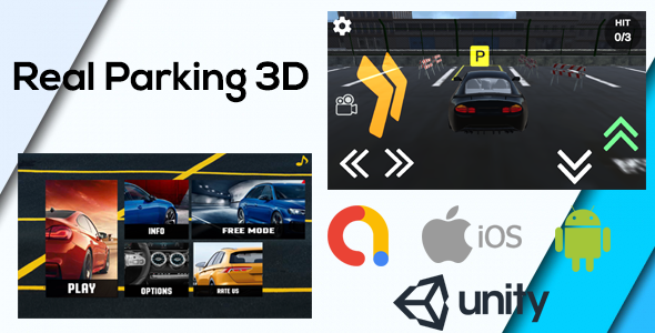 Free Download Real Car Parking 3d Game Unity Admob Android Ios Unity 3d Nulled Latest Version Downloader Zone
