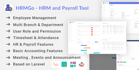 [Free Download] HRMGo – HRM and Payroll Tool (Nulled) [Latest Version]