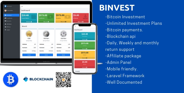 [Free Download] Binvest – Bitcoin Investment Platform (Nulled) [Latest Version]