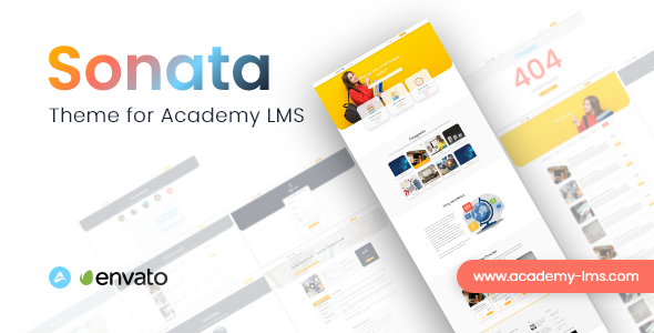[Free Download] Sonata – Academy LMS Theme (Nulled) [Latest Version]
