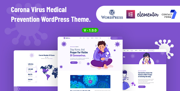 [Free Download] Korisna – Virus Medical Prevention WordPress Theme (Nulled) [Latest Version]