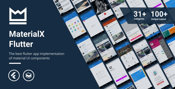 [Free Download] MaterialX Flutter – Flutter Material Design UI Components 1.0 (Nulled) [Latest Version]