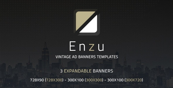 [Free Download] Enzu – Vintage Ad Banners Templates (Nulled) [Latest Version]