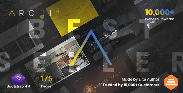 Free Download Archi Multipurpose Interior Design Website Template Nulled Latest Version Downloader Zone