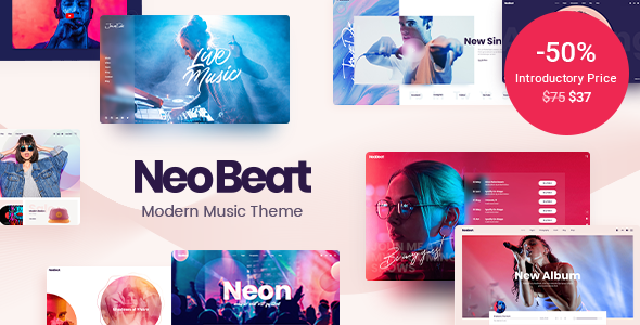 [Free Download] NeoBeat – Music WordPress Theme (Nulled) [Latest Version]