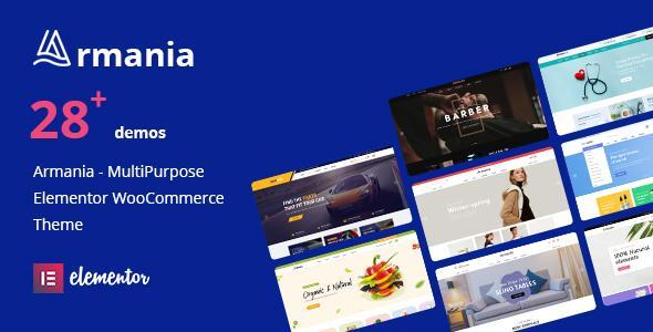 [Free Download] Armania – Elementor WooCommerce Theme (Nulled) [Latest Version]