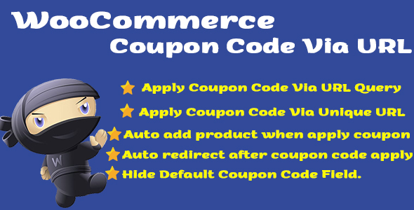 [Free Download] WooCommerce Coupon Code Via URL (Nulled) [Latest Version]