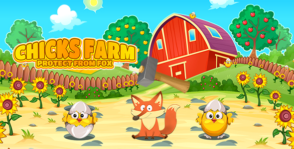[Free Download] Chicks Farm Protect From Fox (CAPX and HTML5) (Nulled) [Latest Version]