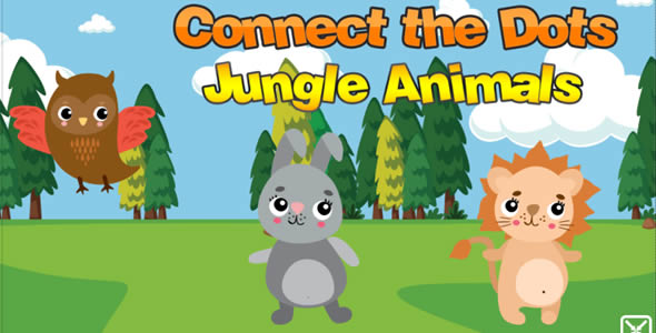 [Free Download] Connect The Dots Jungle Animals (Nulled) [Latest Version]