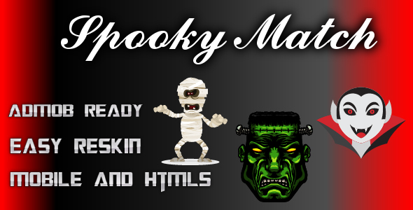 [Free Download] Spooky Match – Html 5 and Mobile Game (Construct 3) (Nulled) [Latest Version]