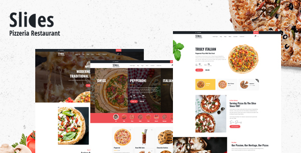 [Free Download] Slices – Pizza Restaurant WordPress Theme (Nulled) [Latest Version]
