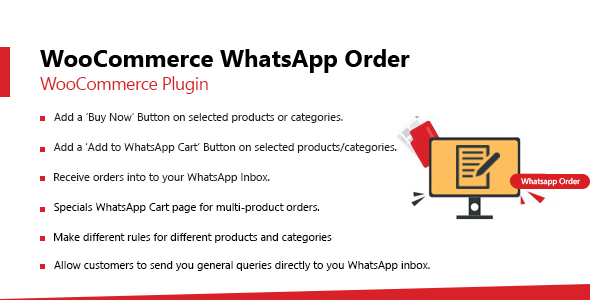 [Free Download] WooCommerce Whatsapp Order (Nulled) [Latest Version]