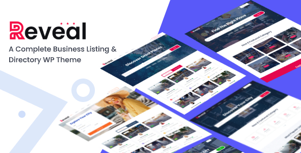 Free Download Reveal Directory Listing Wordpress Theme Nulled Latest Version Downloader Zone