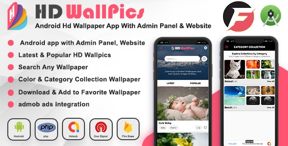 Free Download Android Hd Wallpaper App And Website With Admin Panel Nulled Latest Version Downloader Zone