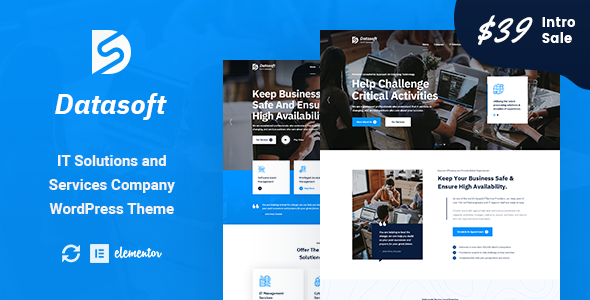 [Free Download] Datasoft – IT Solutions & Services WordPress Theme (Nulled) [Latest Version]