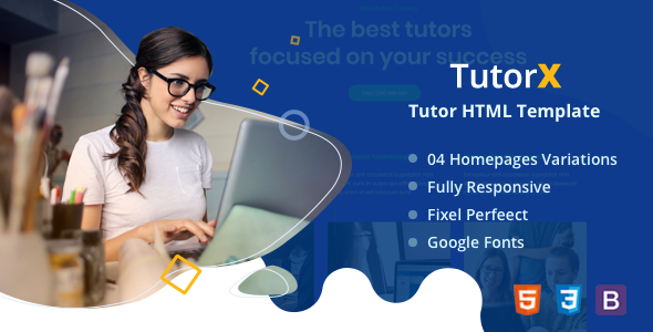 [Free Download] TutorX | Tutoring HTML Template (Nulled) [Latest Version]