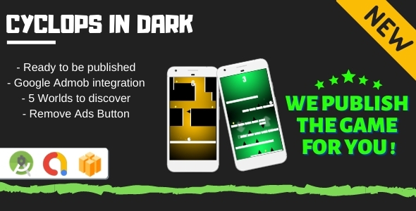 [Free Download] Cyclops in Dark (Android Game + Admob + Buildbox) (Nulled) [Latest Version]