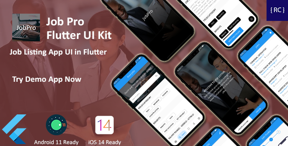 [Free Download] JobPro – Job Listing App UI Template in Flutter (Nulled) [Latest Version]
