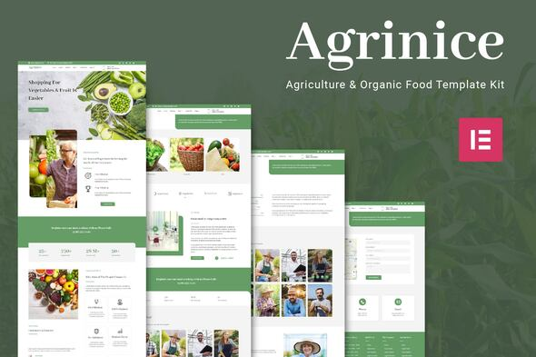 [Free Download] Agrinice – Agriculture and Organic Food Template Kit (Nulled) [Latest Version]