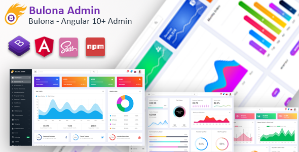 [Free Download] Bulona – Angular 10+ Admin Template (Nulled) [Latest Version]