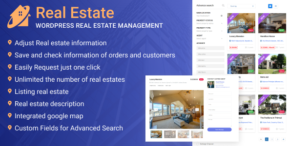 [Free Download] WordPress Real Estate Management (Nulled) [Latest Version]