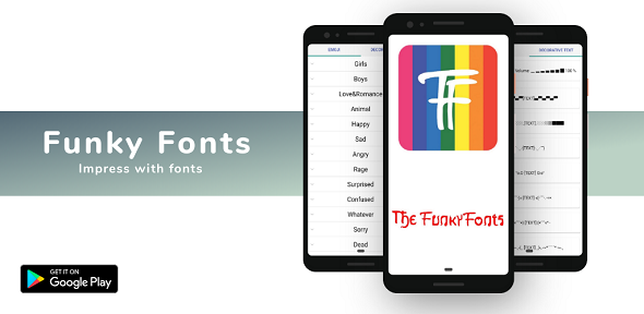 [Free Download] Funky Fonts – Cool Fonts Keyboard Stylish Font (Nulled) [Latest Version]