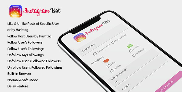 Free Download Instagram Bot For Android Increase Your Followers Nulled Latest Version Downloader Zone