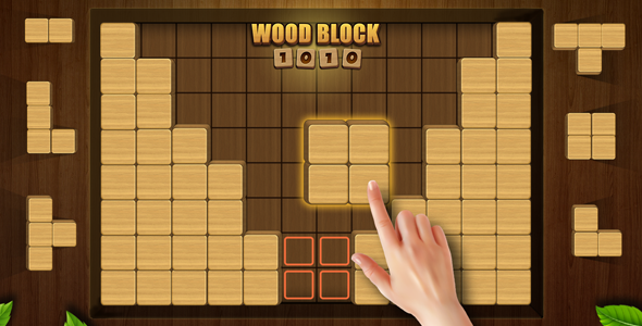 [Free Download] Wood Block Puzzle (Nulled) [Latest Version]