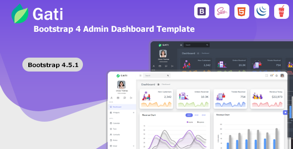 [Free Download] Gati – Bootstrap 4 Admin Dashboard Template & UI Kit (Nulled) [Latest Version]