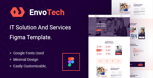 [Free Download] EnvoTech – IT Solution and Services Figma Template (Nulled) [Latest Version]