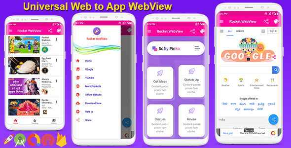 [Free Download] Android Native WebView App Full Template (Nulled) [Latest Version]