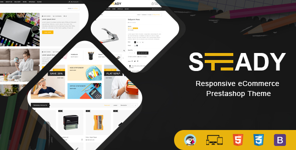 [Free Download] Steady – Stationary Prestashop Theme (Nulled) [Latest Version]