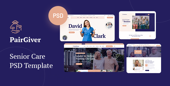 [Free Download] PairGiver – Senior Care PSD Template (Nulled) [Latest Version]