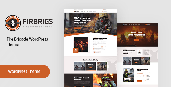Free Download] Firbrigs : Fire Department WordPress Theme (Nulled) [Latest  Version] - Downloader Zone