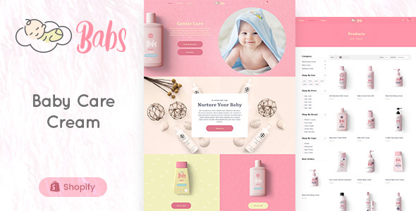 [Free Download] Babs – Baby Products Store Shopify Theme (Nulled) [Latest Version]