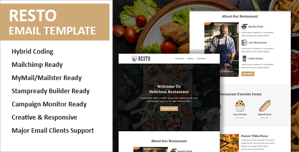 [Free Download] Resto Email Newsletter Template (Nulled) [Latest Version]