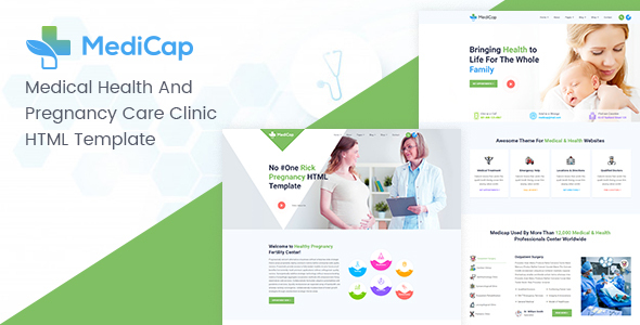 [Free Download] Medicap – Medical Health & Pregnancy Care Clinic HTML Template (Nulled) [Latest Version]