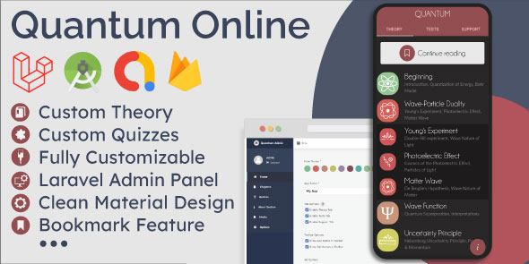 [Free Download] Educational App (Theory & Quizzes) + Admin Panel (Nulled) [Latest Version]