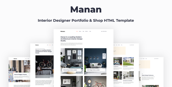 [Free Download] Manan – Interior Designer HTML Template (Nulled) [Latest Version]