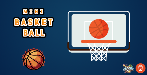 [Free Download] Mini Basket Ball – HTML5 Game (Nulled) [Latest Version]