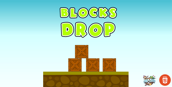 [Free Download] Blocks Drop – HTML5 Game (Nulled) [Latest Version]