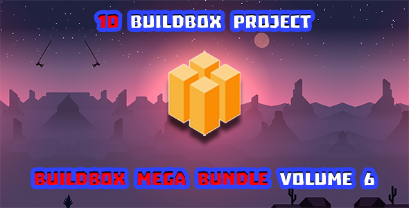 [Free Download] Buildbox Game Bundle Volume 6 (Nulled) [Latest Version]