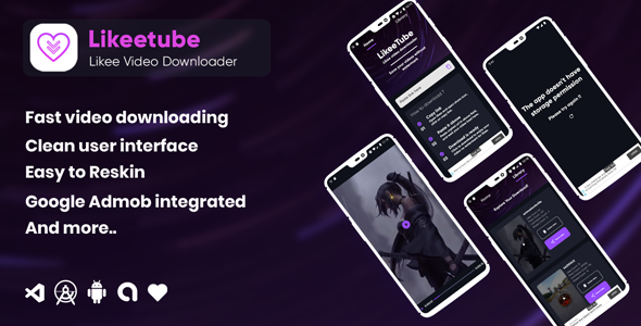 [Free Download] Likeetube Likee video downloader no watermark (adnroid ) (Nulled) [Latest Version]