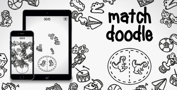 [Free Download] Match Doodle – HTML5 Game (Nulled) [Latest Version]