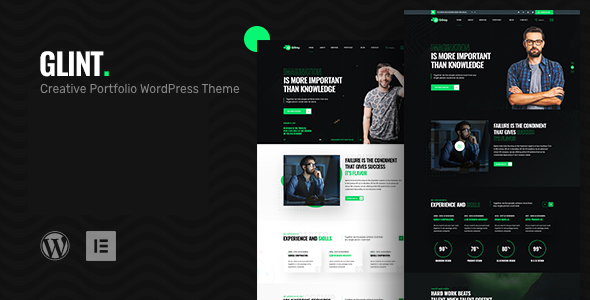 [Free Download] Glint – Personal Portfolio WordPress Theme (Nulled) [Latest Version]