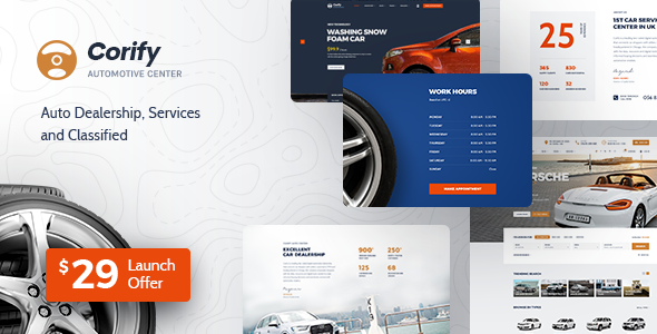 [Free Download] Corify – WordPress Car Listings & Dealership Theme (Nulled) [Latest Version]